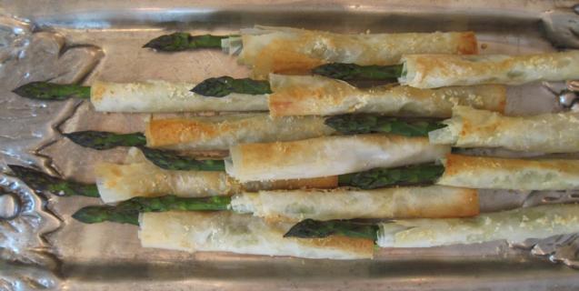 Crispy Asparagus Appetizers