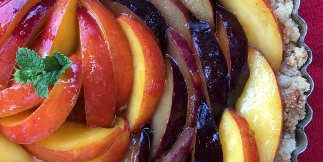 Fruit Tart: Gluten and Dairy-Free!
